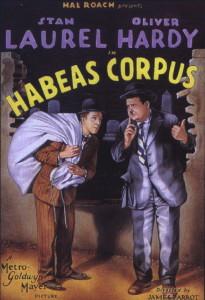 habeas corpus poster l&h