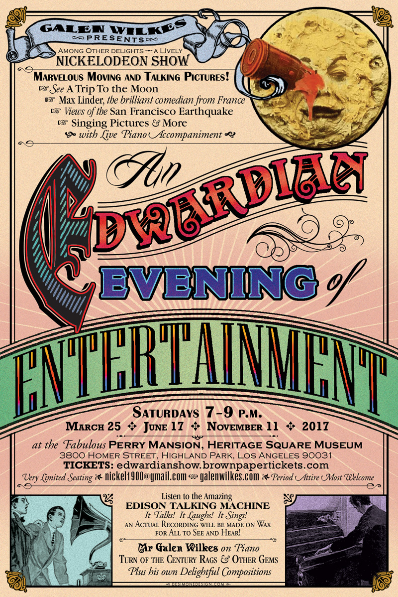 Edwardian Evening of Entertainment